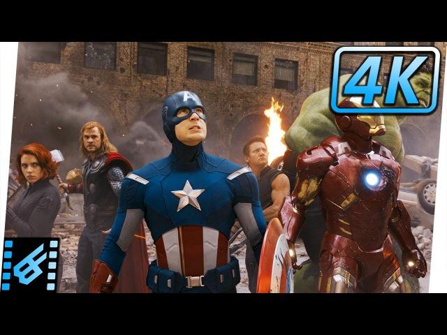 Avengers vs Chitauri / Avengers Assemble Scene | The Avengers (2012) Movie Clip