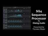 SQ4 Sequence Processor by Dialog Audio driving THRILL Kontakt Instrument