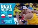 Best Action Collection | Kantor/Losiak vs Brouwer/Meeuwsen | EuroBeachVolley 2018