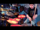 BREAKING THE LAW - JUDAS PRIEST - Drum Cover by Avery Drummer