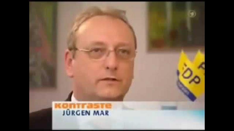 Richter und Staatsanwälte beim ... Thomas de Maizière ARD