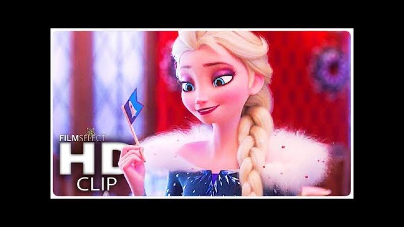 Холодное приключение Олафа песня Трейлер Холодное сердце 2