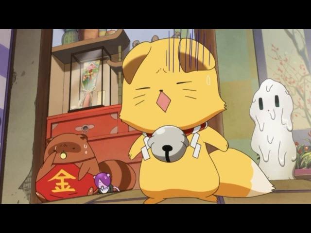Смешные и милые моменты из аниме: Загугли, Коккури!4 - Конец.