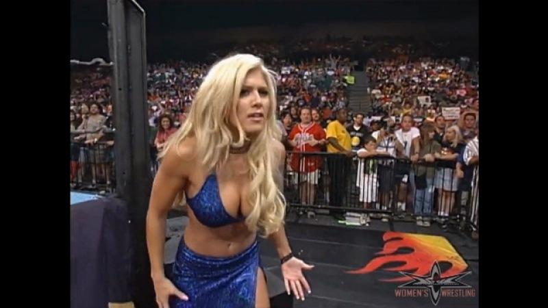 WCW Nitro 07/24/00 - Shane Douglas (w Torrie Wilson) vs. Mike Awesome (w Mighty Heidi)
