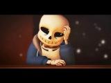 Top 3 по анимации Undertale про Санса