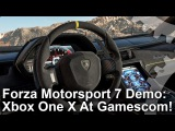 [4K] Forza Motorsport 7 Xbox One X Gamescom Demo: Sonoma Footage + Analysis!
