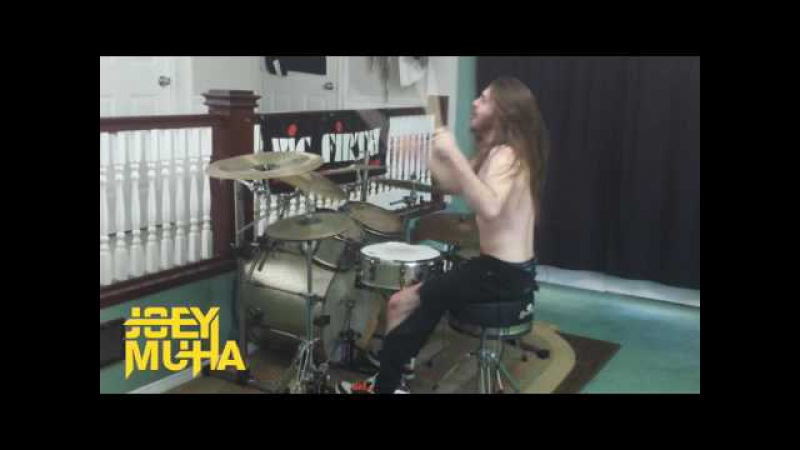 Rage Against The Machine - Bombtrack DRUM COVER - JOEY MUHA