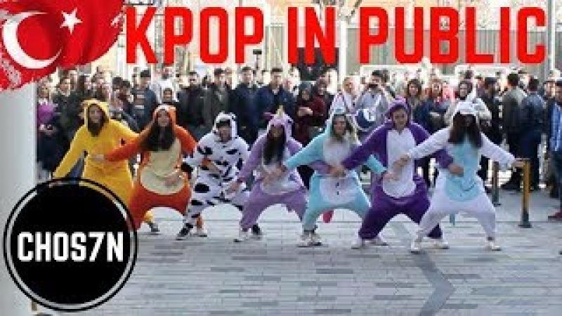 [KPOP IN PUBLIC TURKEY/ISTANBUL] BTS - GO GO Cover by CHOS7N (kigurumi ver.)