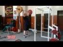Жим стоя силовая тренировка