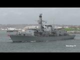 Великобритания отправила в Ла Манш фрегат для перехвата российских кораблей