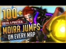 100 USEFUL MOIRA FADE JUMPS on EVERY MAP