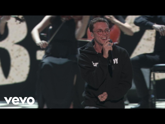 Logic - 1-800-273-8255 (Live At The MTV VMAs / 2017) ft. Alessia Cara, Khalid