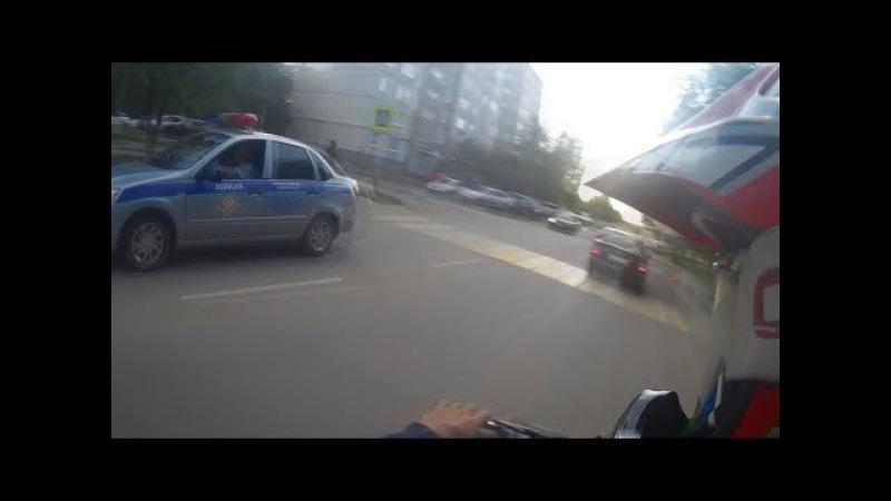 Мотокросс на питбайках | Питбайкер вне закона ДПС ИЩЕТ