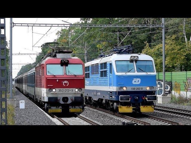 Vlaky Praha-Klánovice ● 22.09.2017