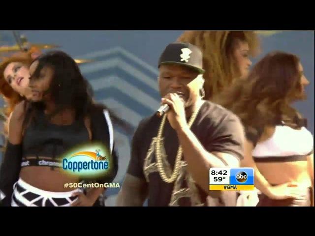 50 Cent - In Da Club │LIVE Performance│Good Morning America 2014