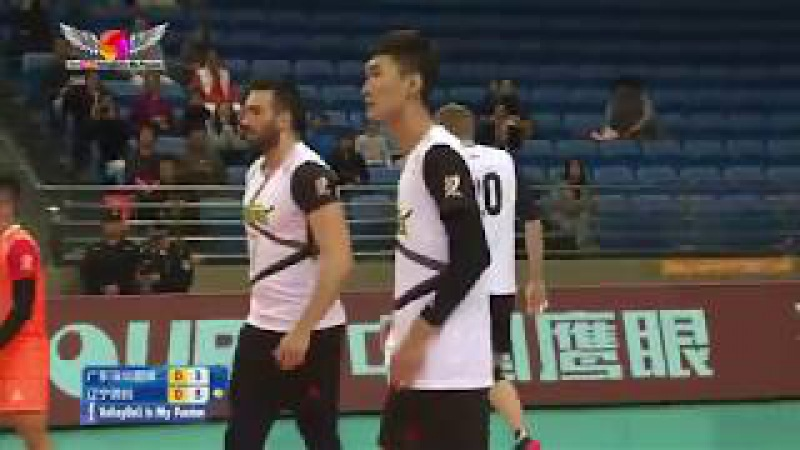 Guangdong (广东) VS Liaoning (辽宁) | 14-01-2018 | Chinese Men's volleyball super league 2017/2018