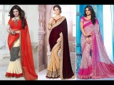 How To Wearing Saree To Look Slim, Indian Desi Saree Style