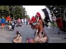 Зрители потеряли дар речи когда этот мужчина из индейского племени начал играть