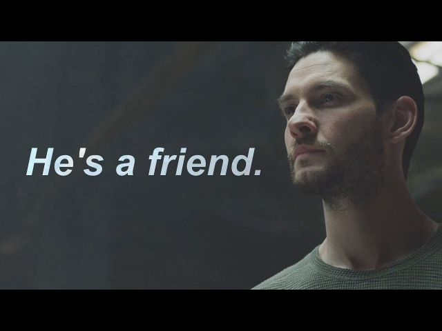 Frank Castle and Billy Russo The Punisher He's a friend