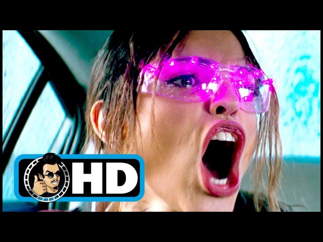 BABY DRIVER 2017 Movie Clip Tequila Gun Fight FULL HD Jamie Foxx