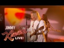 Judah The Lion - Take It All Back Jimmy Kimmel Live