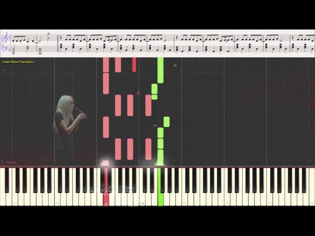 Crazy In Love - Sofia Karlberg (Beyoncé Cover)(Ноты и Видеоурок для фортепиано) (piano cover)