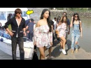 SRK's HOT Daughter Suhana Khan Bollywood Celebs Returning From Alibaug After Birthday 2017 Party