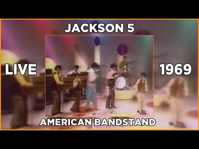 Jackson5 American Bandstand 1970 720p 60FPS