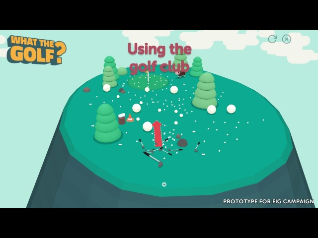 WHAT THE GOLF? - Anything Can Be The Ball In This Wonderfully Wacky Golf Game!