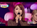 Comeback Stage Hong Jin Young Cheer up 홍진영 산다는 건 Show Music core 20141101