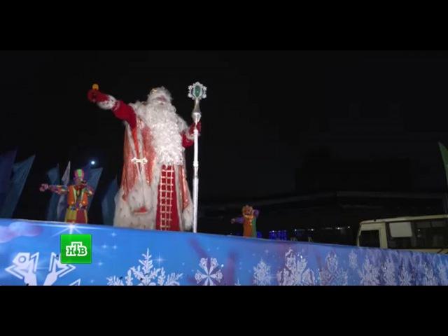Участники Ты супер Танцы сплясали для Деда Мороза в Вологде