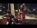 ТУРЕЦКАЯ ПЕСНЯ В ТОРГОВОМ ЦЕНТРЕ В БАКУ 2017 ALISHKA SYEMA TURK MAHNISI GITARADA