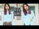 BLUSA HIPPIE - CROCHÊ with english subtitles