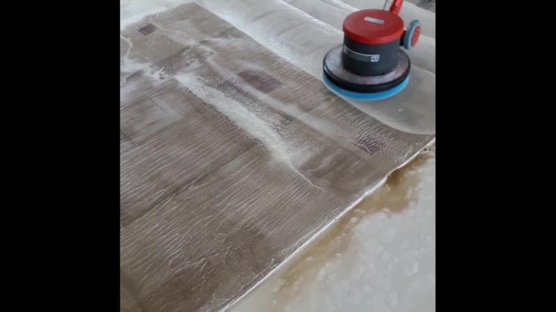 двухстороннее шампунирование ковров