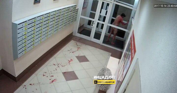 Podivný boj nahých sibiřanů na nože skončil vraždou. Incident zaznamenala kamera