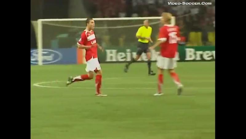 Лига Чемпионов 2006/07. Спартак (Москва) - Спортинг Лиссабон (Португалия) - 1:1 (1:0).