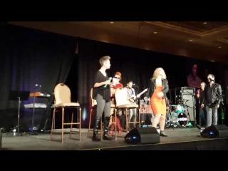 Briana Buckmaster, Kim Rhodes, Ruth Connell (VEGASCON, 24/02/18)