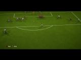 FIFA18 гол Туре со штрафного
