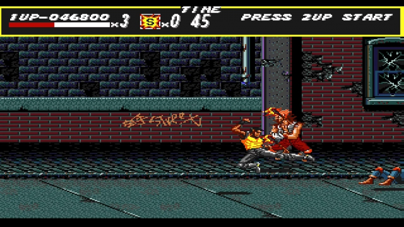11.12.2017- Streets Of Rage(1) Level Two