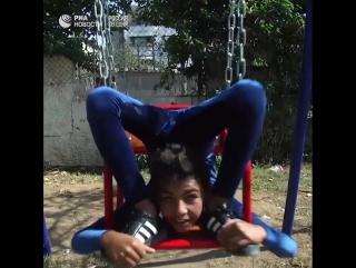 Юный акробат-рекордсмен