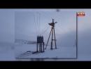 Шквалистый порывистый ветер со снегом вывел из строя энергооборудование двух населённых пунктов