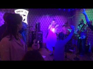 "Alina Filippova & The Band "" Something`s got a hold on me"""