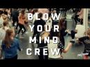 4 марта BLOW YOUR MIND CREW: Анастасия Чередникова, Виталий Клименко, Лейла Багирова и Алексей Симба.