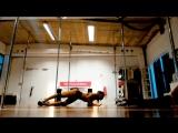 Masha Lu and Daphne Lux - exotic pole dance