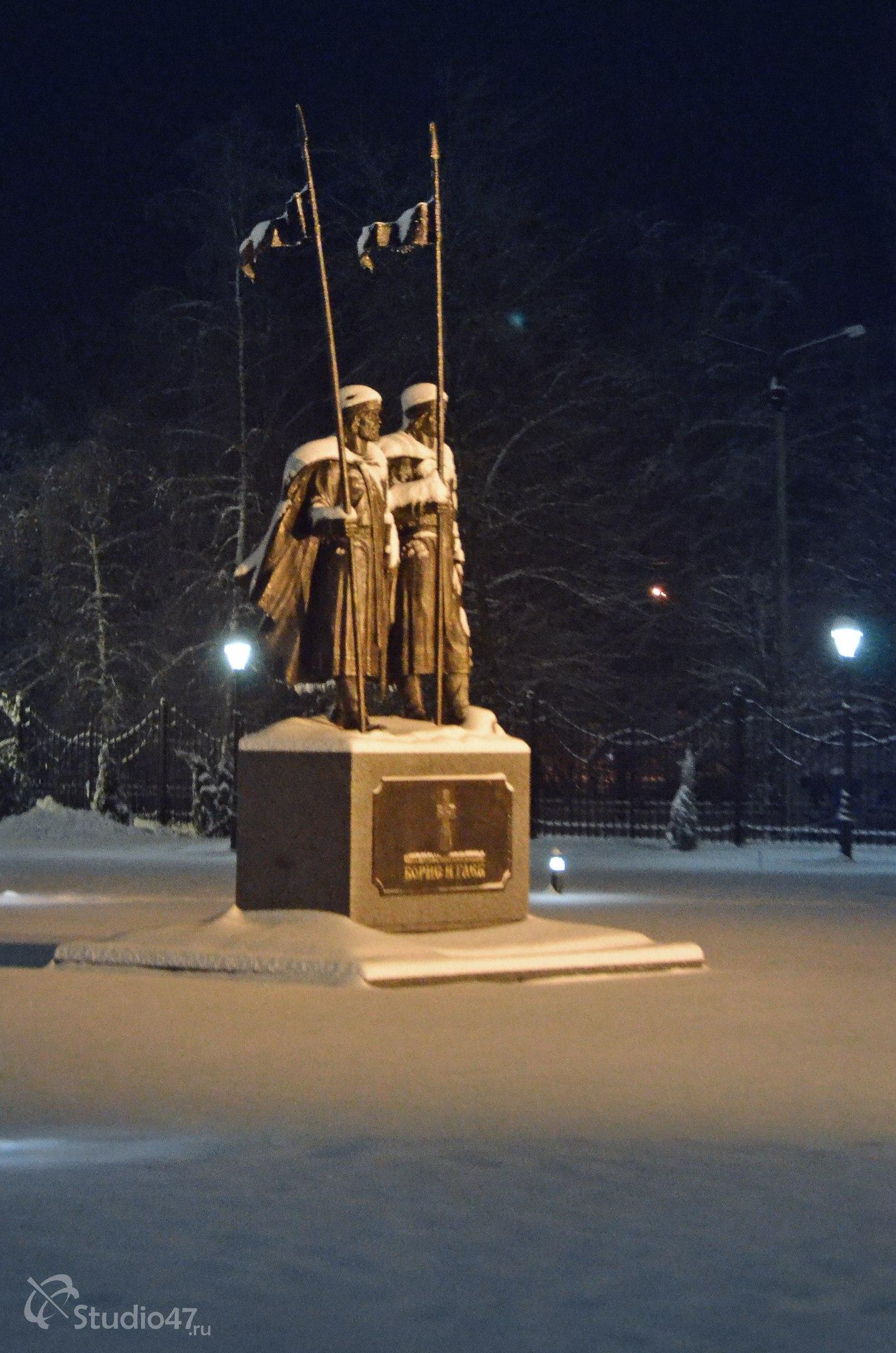 Памятник Борису и Глебу