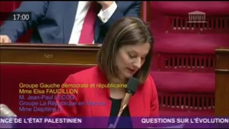 [ ALERTE J-6 - LibérezSalah ] 📢 Elsa Faucillon, Députée GDR, a interpellé cet après-midi Jean-Yves Le Drian pour réclamer la l