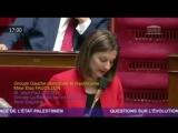[ ALERTE J-6 - #LibérezSalah ] 📢 Elsa Faucillon, Députée GDR, a interpellé cet après-midi Jean-Yves Le Drian pour réclamer la l