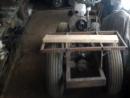 Самодельный трактор из металлолома. Скоро закончу сборку