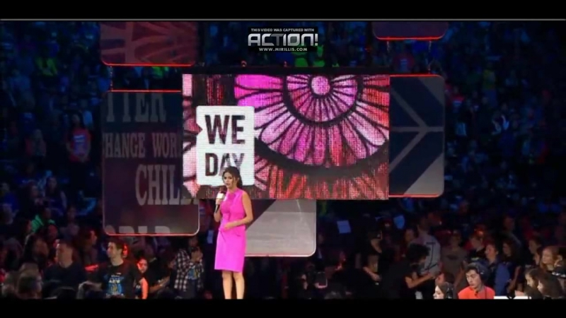 Selena Gomez hosting 2014 We Day Event Vancouver Canada 22 Oct By Ford