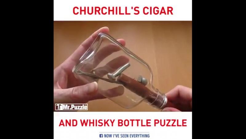 Головоломка в бутыле